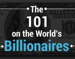 101 Awesome Facts About Billionaires All Around The World [Infographic]