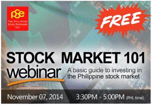 Free Webinar: Demistifying the Philippine Stock Market