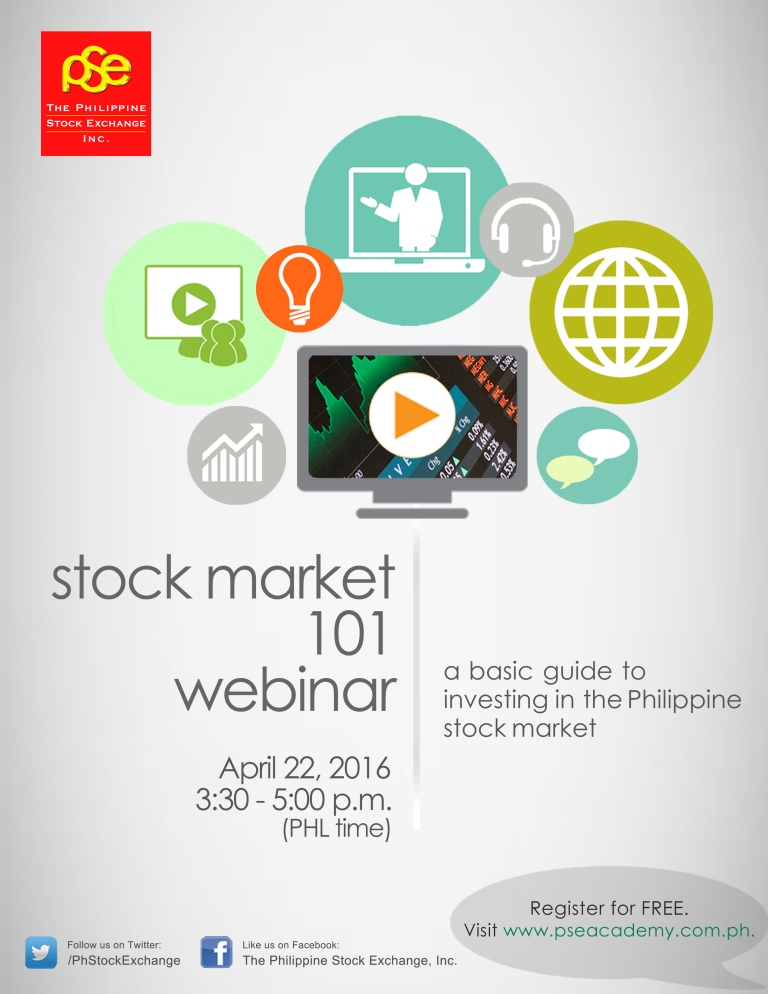 Register here: free philippine stock market 101 webinar