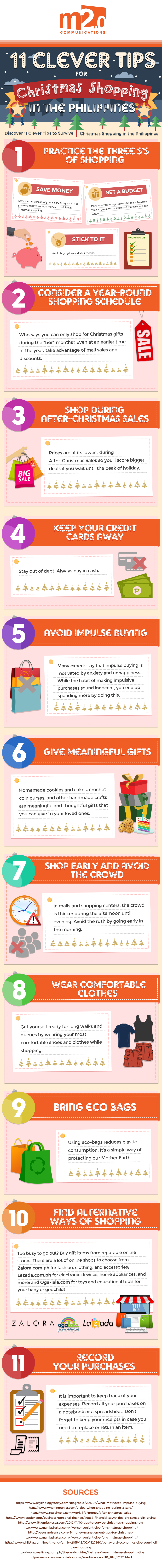 Christmas Shopping Top Tips
