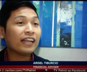 argel tiburcio on tv patrol, 1 billion pesos lotto prize
