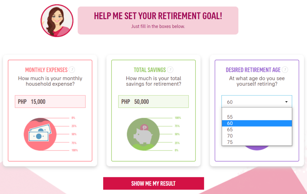 free online financial calculator retirement details