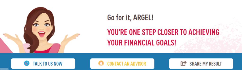 free online financial calculator contact an advisor