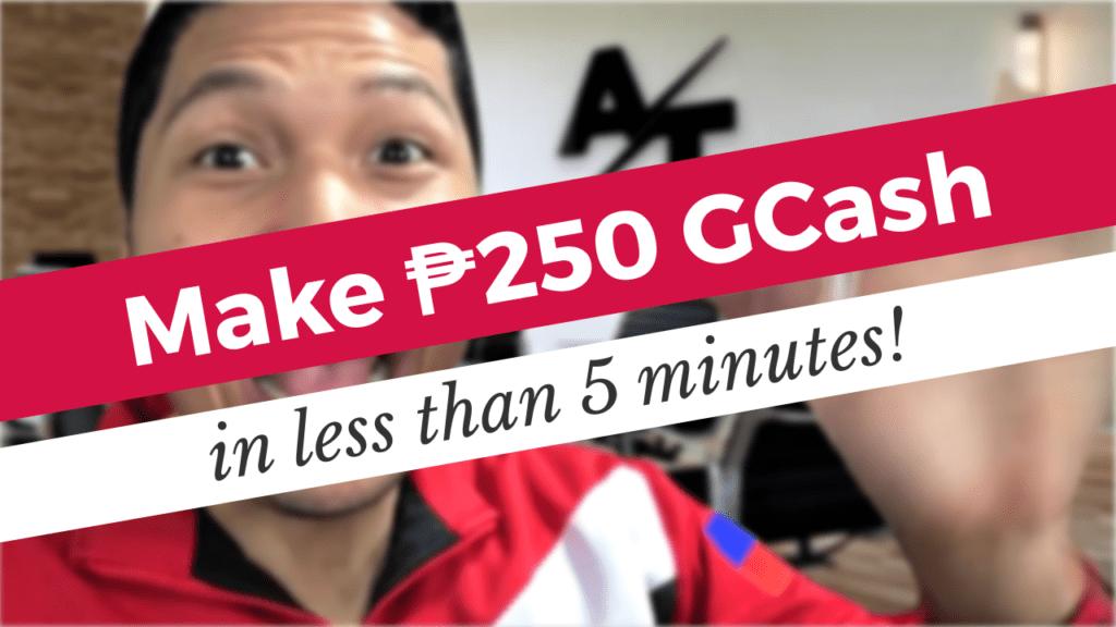 Make P250 GCash in less than 5 Minutes | AIA Philam Life Promo