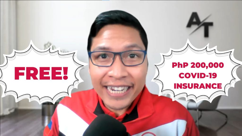 Get Your PhP 200,000 Free Insurance Coverage for COVID-19!